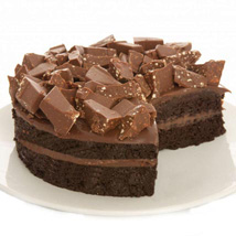 Swiss Alps Fudge Cake: Send Gifts to Newcastle