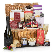 The Traditional Christmas Hamper: Chocolate Delivery in London UK