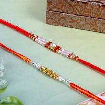 Traditional rakhi threads: Rakhi to UK