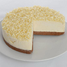 White Chocolate Truffle Cheesecake: Gifts to Newcastle