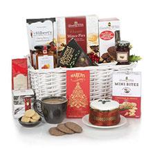 White Christmas Hamper: Gift Baskets in London UK