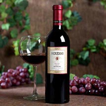 1 Bottle Houdini Napa Chiles Valley Zinfandel: Valentine Gifts for Her to USA