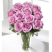 12 Long Stem Roses: Send Gifts for Mother to USA