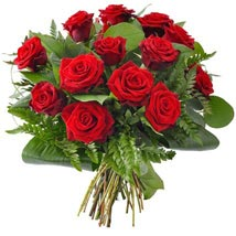 12 Red Roses: Birthday Gifts Cincinnati