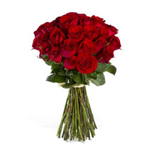 24 Red Roses: Same Day Flower Delivery in Atlanta