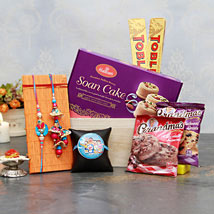 A delightful Rakhi for All: Rakhi for Bhaiya Bhabhi USA