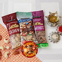 Assorted Dry Fruits Love for Brother: Dry Fruits to USA