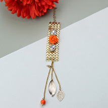 Bejeweled Bangle: Rakhi to Irvine