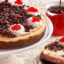 Black Forest Cheesecake: Birthday Gifts to Cary