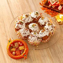 Boondi Laddoo Bhai Dooj Pack: Send Bhai Dooj Gifts to USA