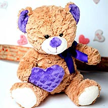 Brown Lovable Teddy Bear: Valentine Gifts to Santa Clara