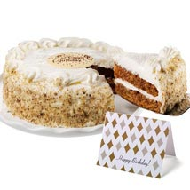 Carrot Cake: Birthday Gifts to Cary