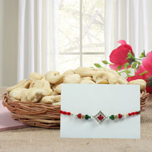 Cashews N Rakhi: Rakhi with Dryfruits to USA