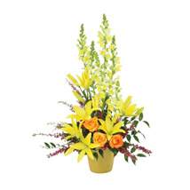 Cheerful Greetings: Send Mixed Flowers to USA