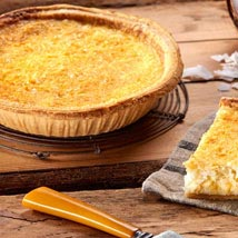 Coconut Custard Pie: Birthday Gifts to Cary