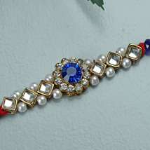 Color Him Blue Rakhi: Send Rakhi to Philadelphia