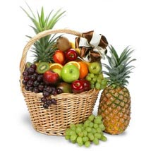 Colossal Fruit Basket: Send Birthday Gifts to Santa Clara