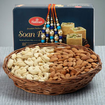 Crazy Rakhi Hamper: Rakhi With Dryfruits USA