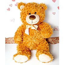 Cute Brown Teddy Bear: Valentines Day Gifts New Jersey