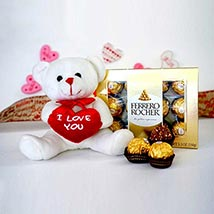 Cute Combo For U: Send Valentine Gifts to Kansas City