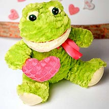 Cute Froggy Soft Toy: Valentine Day Gifts Madison