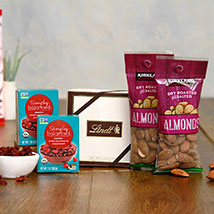 Delightful Choco Dry fruits Hamper: Dry Fruits to USA