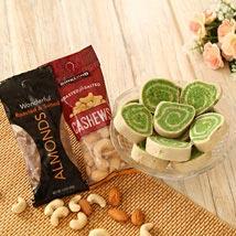 Dry Fruits N Pista Cassata: Dry Fruits to USA