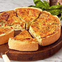 Florentine Quiche: Cakes to Dallas