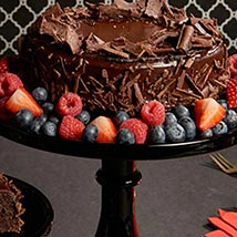 Flourless Chocolate Cake: Send Mothers Day Gifts to USA