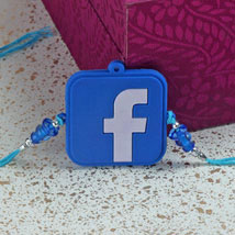 Funky Facebook Rakhi: Rakhi to Denver