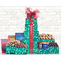 Ghirardelli Dark and Milk Chocolate Tower: Thanks Giving Day Gifts to USA