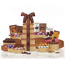 Godiva Chocolate Tower: Thanksgiving Day