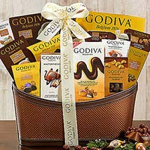 Godiva Wishes: Christmas Gift Baskets to USA