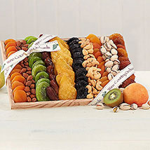 Gourmet Dried Fruit and Nut Collection: Women's Day