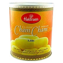 Haldirams Cham Cham: Sweets to Boston