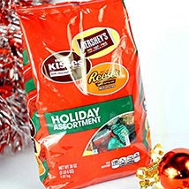 Hersheys Holiday Assortment Chocolates: Chocolate Delivery in USA