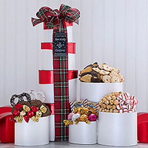Holly Jolly Christmas Tower: Gifts for Birthday