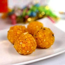 Jaybharat Boondi Laddoo: Send Sweets to Austin