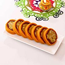 Jaybharat Dryfruit Orange Casatta Roll: Sweets to Austin