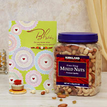 Mixed Bag Of Rakhi Emotions: Rakhi With Dryfruits USA