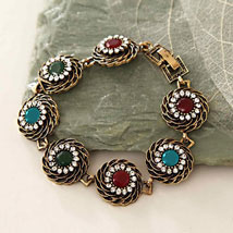 Multicolor Antique Bracelet: Womens Day Gifts to USA