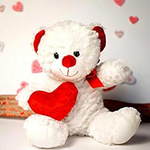 My Heart is 4 U Teddy Bear: Send Valentine Day Gifts to Madison
