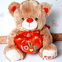 My Love 4 You Teddy Bear: Send Valentine Day Gifts to Madison