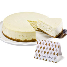 New York Cheesecake: Send Birthday Gifts to Houston