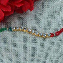 Pure N Lovely Rakhi: Rakhi to Irvine