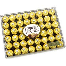 Rectangle Of Ferrero Rocher: Chocolate Delivery in USA