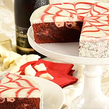 Red Velvet Brownie Cake: Valentine Gifts for Her to USA