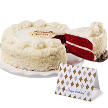 Red Velvet Chocolate Cake: Gifts to San Francisco
