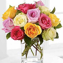 Rose Fest Arrangement: Send Wedding Gifts to USA