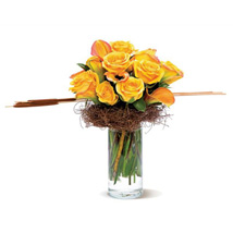 Rustic Roses: Bouquets for Anniversary
